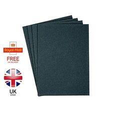 WET AND DRY ABRASIVE SANDPAPER 100-1500 GRIT FULL SHEETS 230mm X 280mm (A4 SIZE)