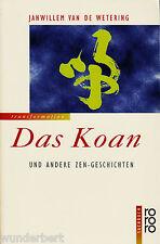 *~ Das KOAN und andere ZEN-Geschichten - Janwillemvan de WETERING  tb (1996)