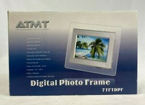ATMT Digital Photo Frame - Comes In Box