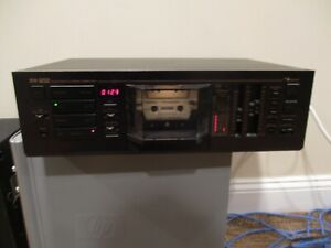 VINTAGE NAKAMICHI RX-202 UNIDIRECTIONAL AUTO REVERSE CASSETTE DECK TESTED WORKS