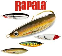 Rapala Fishing Lures Minnow Spoon Weedless Lure Bait All Colours 8cm 16g Pike