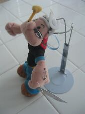 "POPEYE ORNAMENT FROM APPLAUSE POPEYE & OLIVE OYL, 6-1/2"" TALL, STILL HAS TAG ON"