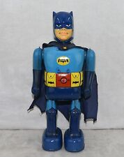 Batman 1966 Nomura Battery Operated Robot Tin Litho Japanese ALL ORIGINAL Works!