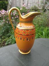 Vintage Franklin Comme neuf porcelaine pot à lait pichet/carafe Or avec Décoration