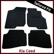 Kia Ceed (2007 2008 2009 2010 2011) Tailored Fitted Carpet Car Mats (2 Holes)