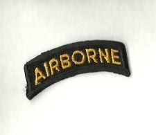 New listing Airborne Tab Gold On Black