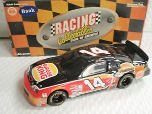 STEVE PARK #14 BURGER KING 1/24 SCALE RCCA ACTION 1997 1 OF 5000 BANK DIECAST