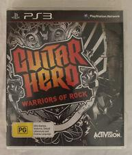 Guitar Hero 6 Warriors of Rock (2010) Playstation 3 - Music Sim - PS3 Game - VGC