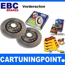 EBC B04 Juego De Frenos delant. Pastillas Discos para Opel Vectra A 86,87