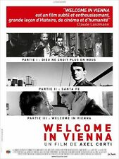 Affiche 40x60cm WELCOME IN VIENNA trilogie d'Axel Corti 1982/1986 - R2011 TB