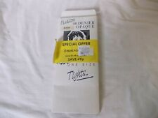 Vintage Madison 40 denier opague Tights, colour Black, one size