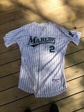 Hanley Ramirez Florida Marlins Home Button Down Jersey Size 56 Majestic