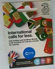 3 Triple Cut Sim Pay As You Go, les appels internationaux pour moins, 99P seulement