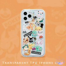 iPhone 12 Case Anime Pokemon Friend Soft iPhone 11 XS Max XR XS 7 8 6S Plus Case