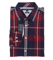 Tommy Hilfiger Men's Long Sleeve Button-Down Plaid Casual Shirt - $0 Free Ship