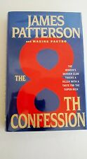 The 8th Confession by James Patterson & M Paetro (2009 Hardcover) SIGNED 1st 1st