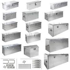 Truckbox Box Werkzeugkiste Anhängerbox Deichselbox 15 Größen Alumium Trucky