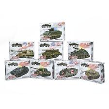 4D 1/72 8pcs Assemble Tank Heavy Weapons Armor Plastic Model US / Germany Kits