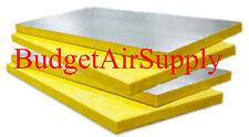 "4 SHEETS Fiberglass Ductboard 1.5"" x 48 x 120"" Duct board R6 (1-1/2 x 4ft x10ft)"