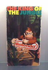 Nintendo Promo concentre video VHS-The King of the Jungle Donkey Kong Country