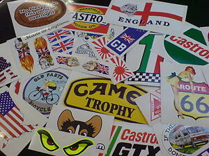 QUALITY SECONDS Stickers x 15 Decorate your bike truck car tool box etc