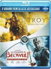Blu Ray TROY + LA LEGGENDA DI BEOWULF *** (Box 2 Blu-Ray) *** .....NUOVO