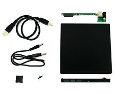 USB 2.0 IDE Laptop Notebook CD DVD RW Burner ROM Drive External Case Enclosure