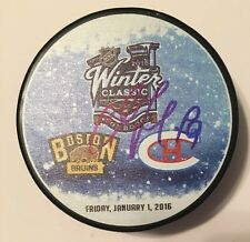 ANDREI MARKOV SIGNED 2016 WINTER CLASSIC PUCK CANADIANS STAR DMAN