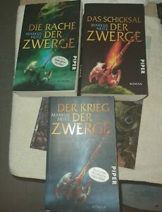 Krehl | Heitz | Krieg der Die Zwerge  Rache Schicksal 4× Paket  | 9783492700931