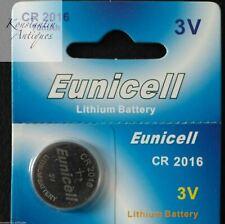 Lithium battery CR2016 DL2016 ECR2016 FA SBT11 BR2016 L10 3.0 V car alarm key
