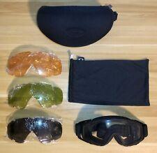 Used Oakley SI 1.0 Ballistic Goggles Z87
