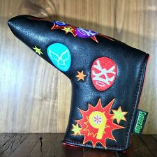 Lucha Libre-Luchador Putter Cover - Scotty Cameron, SWAG, Sugar Skull Golf Style