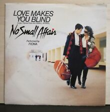 FIONA-LOVE MAKES YOU BLIND- CHRISSY FAITH - ITCHIN' FOR A FIG 45 giri NUOVO 1984