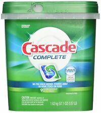 Cascade Complete Dishwasher Detergent, with Dawn Grease Fighting Power, 90 Fr...
