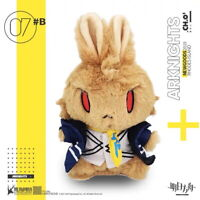 """Official Arknights Chen Rabbit Ver. Bunny Mascot 8"""" Plush Doll Toy - US SELLER"""