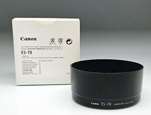 CANON  LENS HOOD ES-78