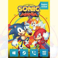 Sonic Mania for PC Game Steam Key Region Free