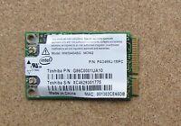 Toshiba P300 A110 U300 M5 Wireless WIFI Card PA3489U-1MPC K000040980 WM3945ABG