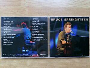 2 CD Bruce Springsteen – Stockholm Dust Night HOVET SWEDEN 2005 CRYSTAL RECORDS