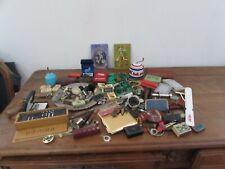 joli lots d objets de vitrines brocantes bijoux montres objets publicitaires....