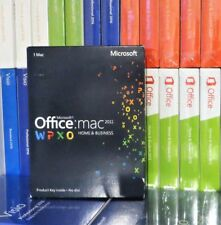 MICROSOFT OFFICE 2011 HOME AND BUSINESS MAC PKC USED W6F-00202 100% GENUINE UK
