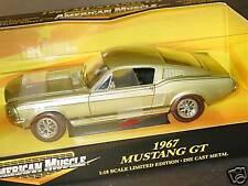 ERTL 1/18, 1967 MUSTANG GT, NEW