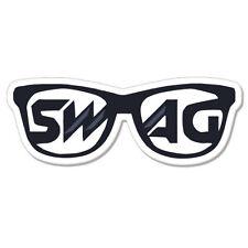 """Funny Swag car bumper sticker decal 5"""" x 3"""""""