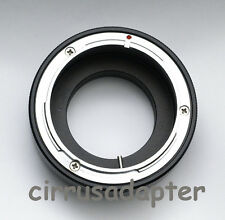Canon FD FL lens adapter to Panasonic DMC-GH4 GM1 GX7 G6 GF6 GH3 GF3 G5 GF5 M4/3