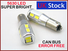 H6W 434 BAx9s CAN BUS NEW PARKING LAMP WHITE LED 10-SMD 5630 A