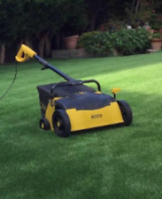 More details for artificial grass electric power brush/rake agm/302 euk 10m cable/uk plug