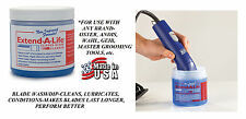 EXTEND PRO CLIPPER BLADE CLEANER RINSE DIP/WASH Lube*For Oster,Andi​s,Wahl,Geib