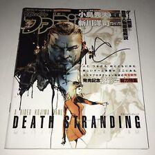"Norman Reedus Hand Signed Death Stranding Japanese Magazine ""Sam"" Authentic Auto"