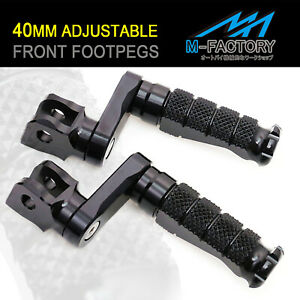 Rider Foot Pegs 40mm Adjustable R-FIGHT For Sprint GT 10-13