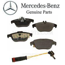 Mercedes C207 A208 E550 W204 C204 A204 C300 C350 Rear Brake Pad Set & Sensor Kit